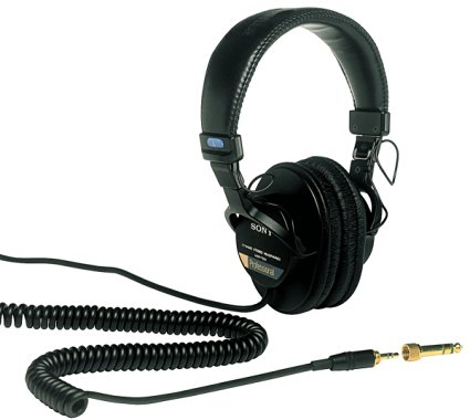 Sony MD 7506 headphones for home studio