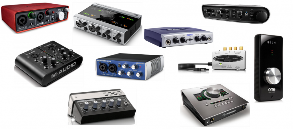 the best audio interfaces for your home studio